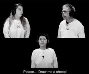 Please draw me a sheep!